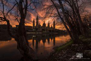 Atardecer en Zaragoza - Adrian Sediles Embi