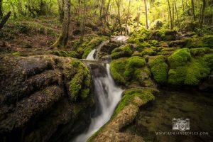 Cascadas de la toberia en Andoin (Alava) - Adrian Sediles Embi