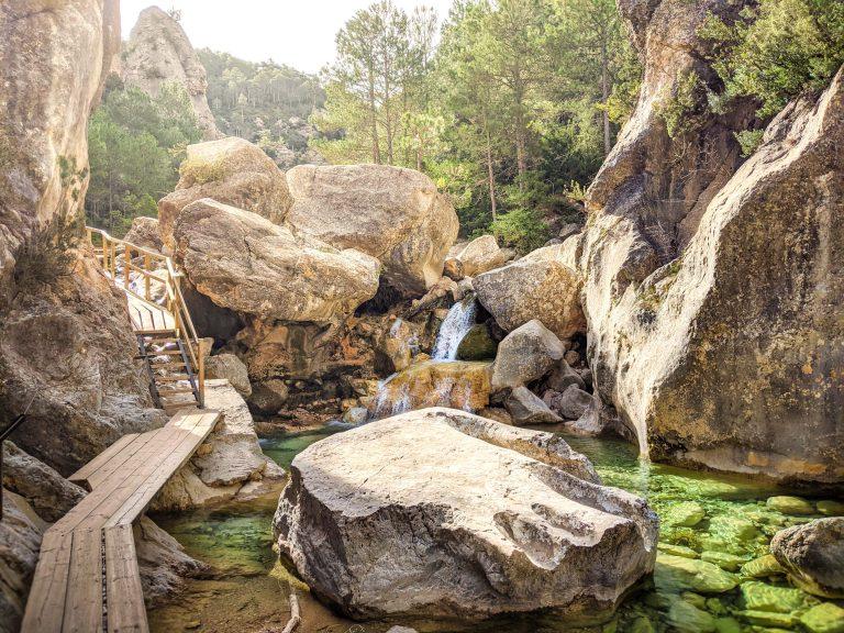 Cascada del Parrizal de Beceite en el Matarraña, Aragón - Adrian Sediles Embi