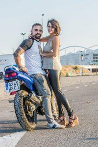 Fotografía de pareja, Andrea Cortés y Javier Ortiz
