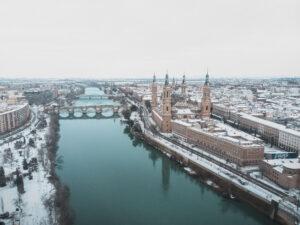 Nieve en Zaragoza - Adrian Sediles Embi