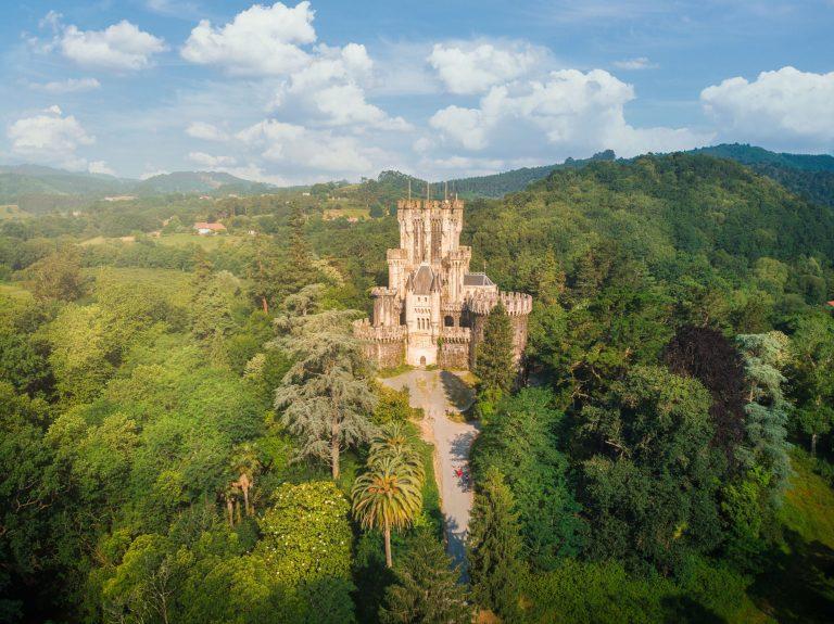 Castillo de Butron en Gatika, Vizcaya - Adrian Sediles Embi